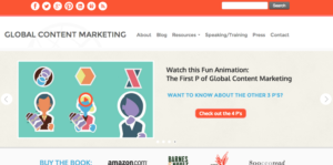 Global Content marketing Animation