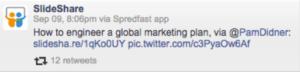 Global Content Marketing Slideshare Presentation