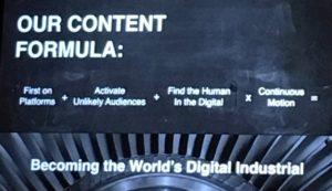 Linda Boff, GE CMO Content Formula