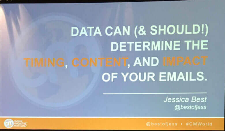 Jessica Best Content Marketing World