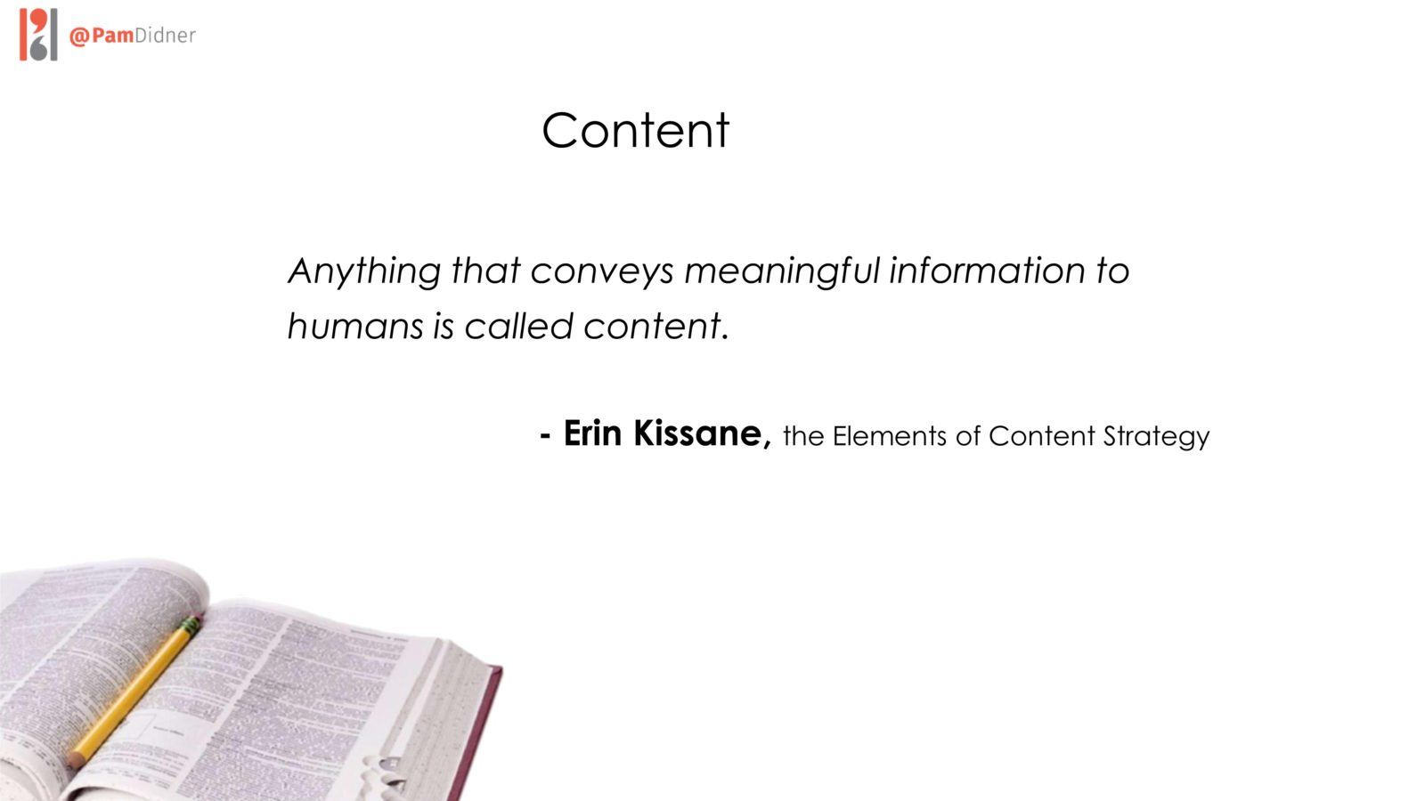 Erin Kissane Content Definition