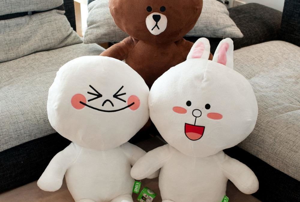 Line Builds Brand Affinity by Expanding Online Emojis And Stickers to Branded Merchandises
