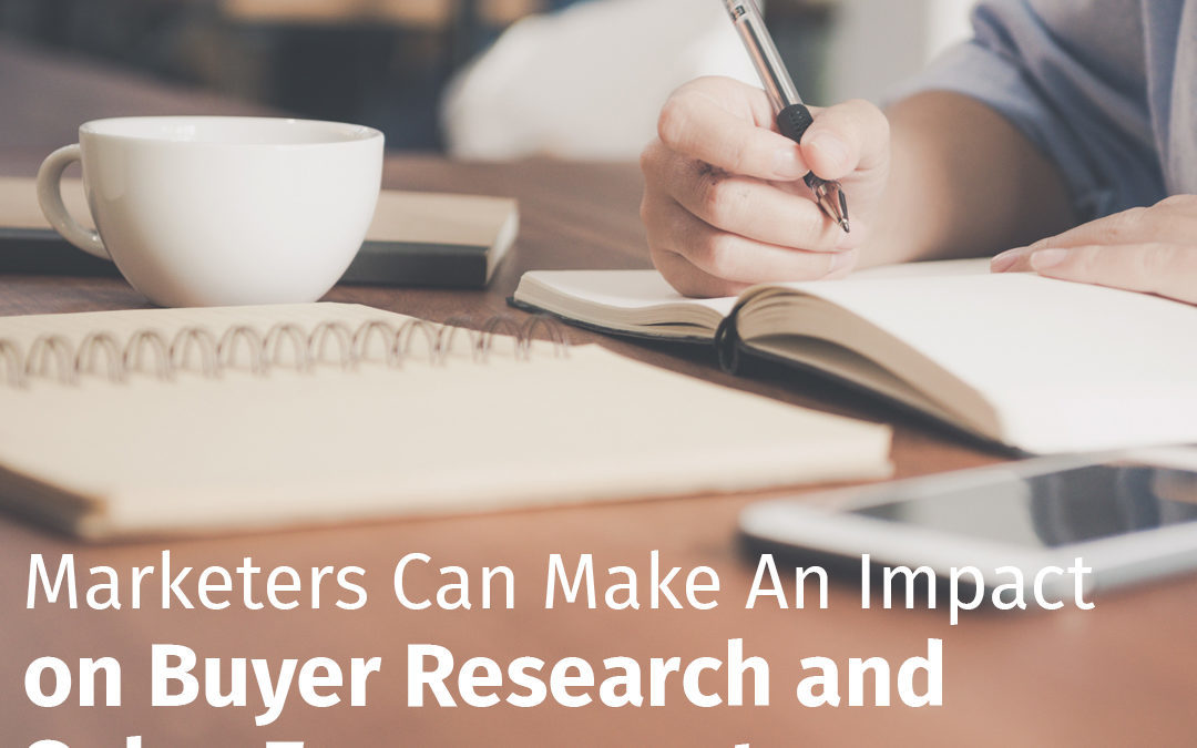 Episode 75 Marketers Can Make An Impact on Buyer Research and Sales Engagements