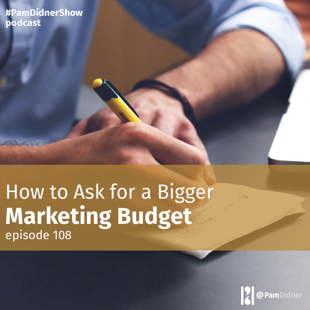 How to Ask for a Bigger Marketing Budget