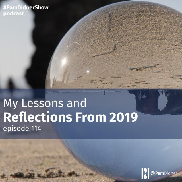 My Lessons and Reflections From 2019