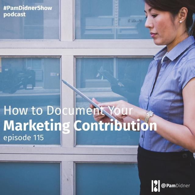 How to Document Your Marketing Contribution