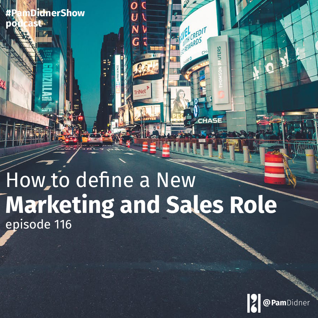 How to Define a New Marketing and Sales Role
