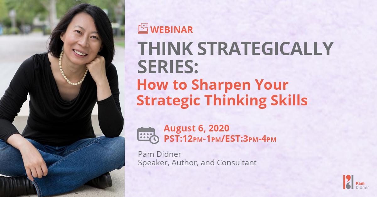 Strategic thinking skills tips