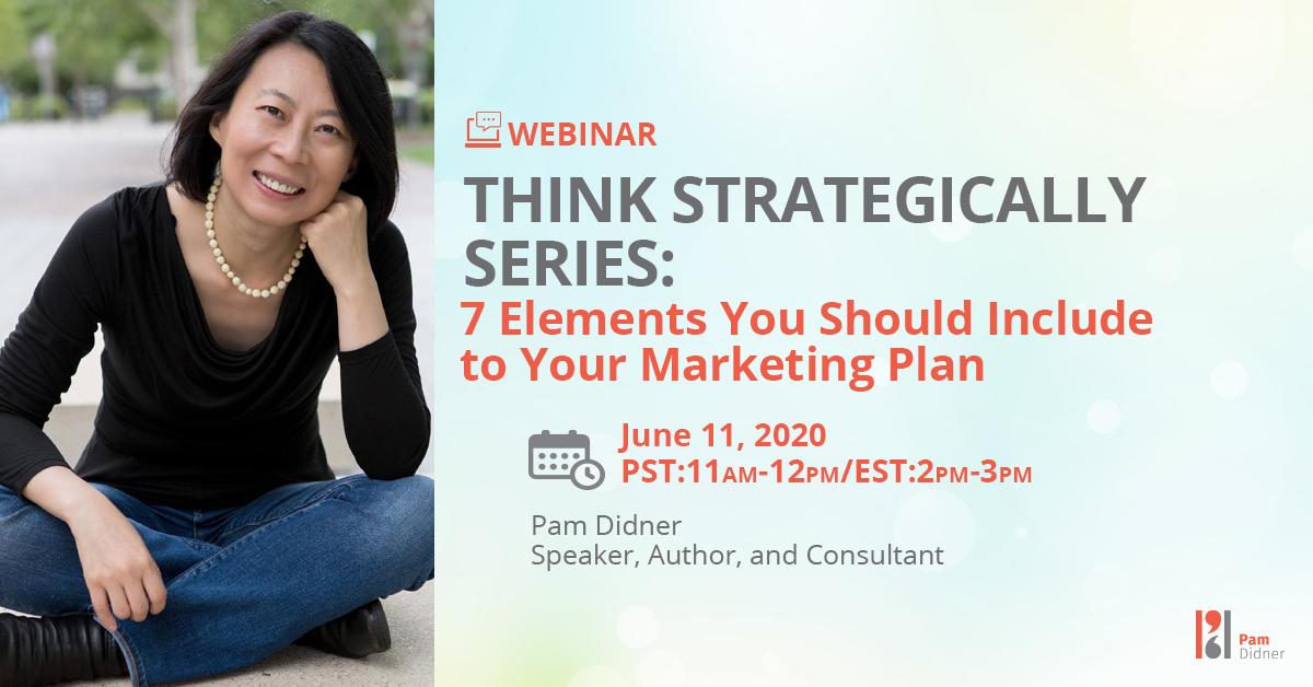 Strategic Marketing Plan Webinar