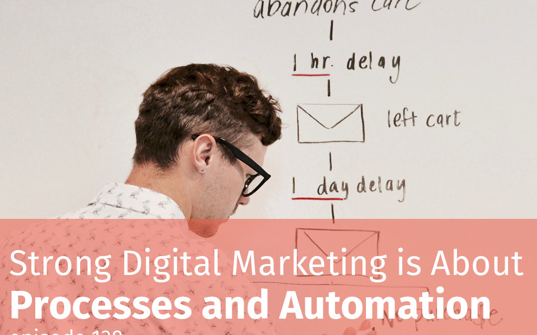 Episode 138 Strong Digital Marketing is About Processes and Automation