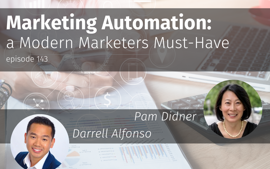 Episode 143 Marketing Automation: a Modern Marketer's Must-Have