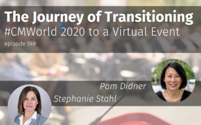 The Journey of Transitioning #CMWorld 2020 to a Virtual Event