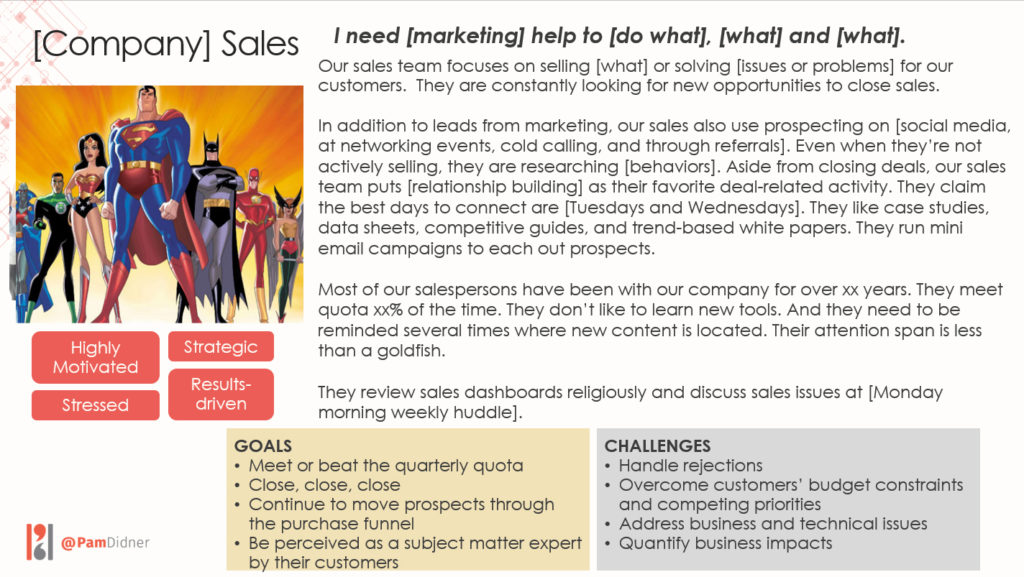 supporting sales with marketing